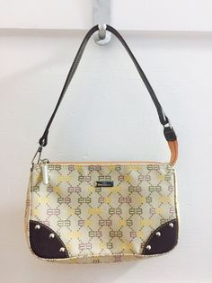 Vintage Balenciaga Monogram Canvas Mini Bag  | eBay