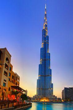 Burj Khalifa of Dubai  http://www.teachingabroaddirect.co.uk/articles.asp?id=72