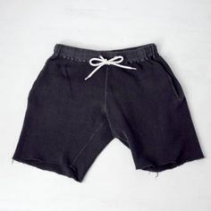 Sanca サンカ Cut off shorts カットオフ・吊り裏毛スウェット・ショーツ