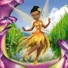 My Disney Fairy is Iridessa.  She is the light fairy and my name Rona in its original meaning means the Light.