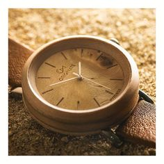 45a44659270e Wooden Watches · You can always find time to reconnect with youself. Sugar  Marple   Olive 46mm Wooden