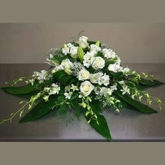 W Flowers product: Head Table Wedding Flowers Altar Flowers, Church Flowers, Funeral Flowers, Wedding Flowers, Ikebana, Funeral Floral Arrangements, Church Flower Arrangements, Altar Decorations, Flower Decorations