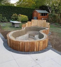 koi carp pond installed along with patio for local barnsley customer