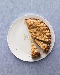 Brown Butter-Sour Cream Crumb Cake Recipe