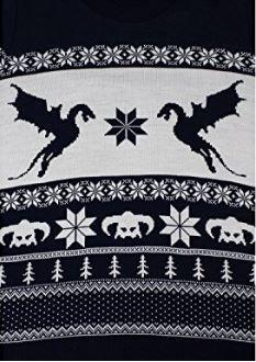 NUMSKULL Skyrim Sweater Homme