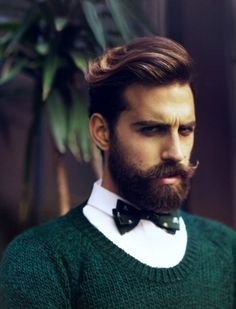 Perfect match for a girl who needs a guy with perfect look . having beard, mustache and hair look also Men's Grooming, Bart Styles, Hair And Beard Styles, Long Hair Styles, Style Masculin, Look Man, Beard Love, Perfect Beard, Men Beard