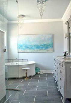40 grey slate bathroom floor tiles ideas and pictures House
