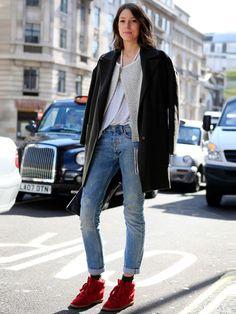 Le look heavy métal - Street style spécial jeans - Grazia