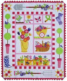 Garden Quilt BLOCK-OF-THE-MONTH -
