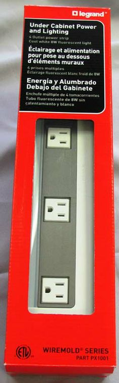 Legrand Wiremold Expands Recall of Under-Cabinet Power Strips Due to Electric Fire Hazard | CPSC.gov