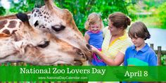 April 8, 2016 – NATIONAL ZOO LOVERS DAY – NATIONAL EMPANADA DAY – NATIONAL ALL IS OURS DAY