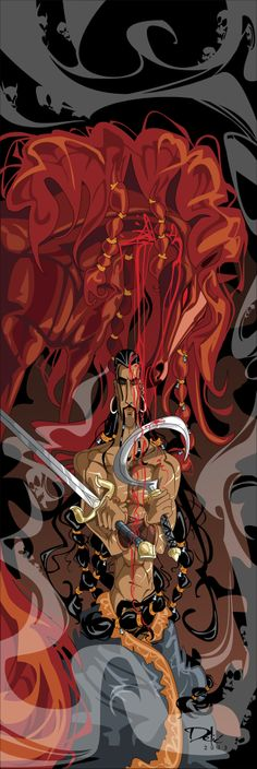 "Khal Drogo, ""Blood Of My Blood"" by dejan-delic.deviantart.com on @deviantART"