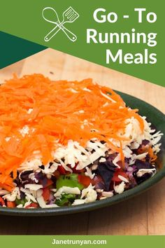 Salads that are nutritious and delicious created by a runner for other runners. Keep your body fueled without sacrificing taste with these yummy salad recipes. Running Food, Running Tips, Trail Running, Best Salads Ever, Nutrition For Runners, Healthy Exercise, Avocado Salad, Healthy Salad Recipes, Fitness Exercises