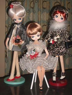Vintage Japan Mod Pose Dolls by Gigi-Geisha, via Flickr