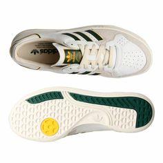 adidas Originals Tennis Court Top Trainers - Edberg Inspired Colorway.