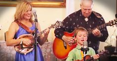 Fiddle master and precious 7-year-old, Carson Peters, is joined by Rhonda Vincent & The Rage in this jaw-dropping version of 'Amazing Grace'. Seriously, it's impossible not to worship while listening to THIS! AMEN!