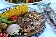 Deep South Dish: Grilled Pork Chop