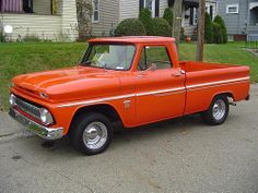 66 Chevy truck, prolly my favorite body style ....drool...
