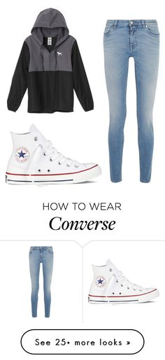"""""""Untitled #776"""" by brennahobgood on Polyvore featuring Givenchy, Victoria's Secret and Converse"""