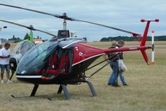 CH77 ULM Helicopter Blois France 2013