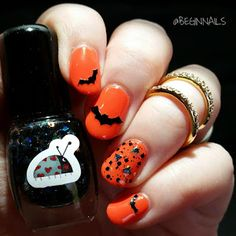 Let's Begin Nails: Ladybug Lacquer Halloween Polishes Swatch and Review
