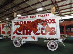 more circus wagons