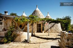 Charming two-bedroom cone-shaped villa in Puglia, Italy –– 20 Amazing and Affordable Airbnb Wedding Locations