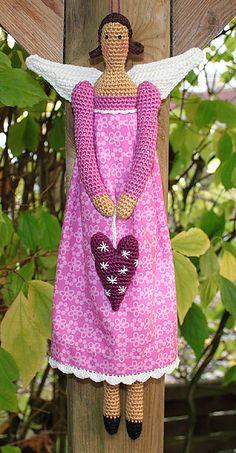 Ravelry: Amigurumi ANGEL - crochet pattern, PDF pattern by CAROcreated design