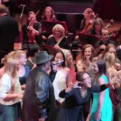 """Soooo Sir Mix-A-Lot performed """"Baby Got Back"""" with a full orchestra..."""