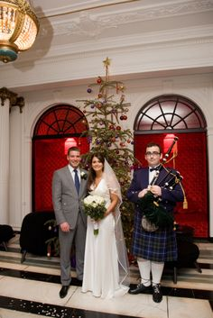 The Monte Carlo Suite at Blythswood Square in Glasgow, with its natural wooden floors, rich wood paneling and luxurious fabrics throughout, is the perfect setting for your religious wedding ceremony in Scotland.