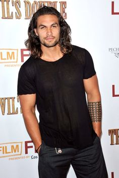 Jason Momoa- you've made me so sad, but I still like looking at you.