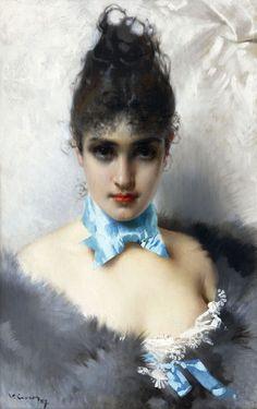 Vittorio Matteo Corcos (Italian 1859-1933)