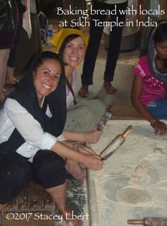 Rolling dough balls at the Sikh Temple, Delhi - Through the Eyes of an Educator: India India Travel, Us Travel, Gap Year, Secondary School, Travel Quotes, Traveling By Yourself, Journey, Education, Communal Kitchen