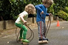 toddler stilts - these would be so much durable than the ones I have seen in catalogs