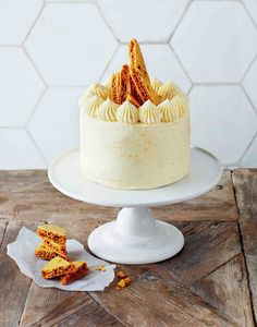 Chocolate, orange and cardamom cake recipe from Decorated by April Carter | Cooked
