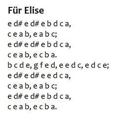 fur elise key letters | Pinterest • The world's catalogue of ideas #piano