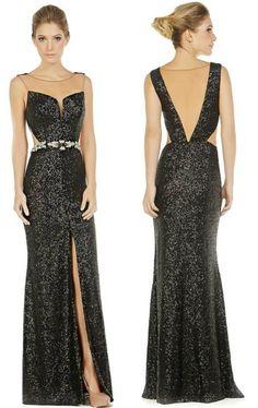 vestidos de festa preto