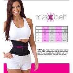 2076443ea9b 2016 Newest Miss Belt Slimming Shaper Sports Waist Tummy Girdle Waist  Trainer Body Shaper Belt For
