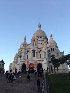 Basilique du Sacré-Cœur de Montmartre in Paris, Île-de-France
