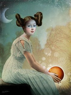 Catrin Welz-Stein graduated from Graphic Design in Darmstadt, Germany and then worked for different advertising agencies in Germany, USA and Switzerland. Three years ago Catrin started to create digital images by collaging old illustrations and photographs. At the same time she discovered online social networks and her private images were then open to the public. The positive responses Catrin got there were her motivation to go on with her art until now.
