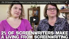 2% Of #Screenwriters Make A Living From #Screenwriting by Barbara Nicolosi and Vicki Peterson of the Book 'Notes to Screenwriters' via http://filmcourage.com/   For more videos, please visit https://www.youtube.com/user/filmcourage  #filmandtelevision #entertainmentindustry #film #screenwritingtips #writers #womenwriters #script #screenplay