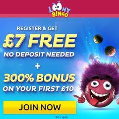 Loony Bingo Fresh Welcome Offer! Bingo For Money, Play Bingo Online, Bingo Bonus, Bingo Sites, Cherry Blossom, How To Apply, Australia, Fresh, Usa
