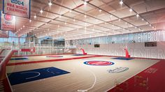 New Pistons training facility starts construction in New Center - Curbed Detroitclockmenumore-arrownoyes : The training, sports medicine, and rehab complex will open in 2019