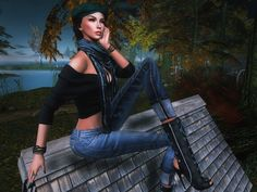 #REIGNBLOGGERSEARCH2016 - Le lac ... Jean : Blueberry Rolled Cuff jeans http://maps.secondlife.com/secondlife/Lenox%20and%20Blueberry/252/128/24 Pull : Ison Wrap Off Shoulder Sweater for Uber http://maps.secondlife.com/secondlife/Uber/136/129/28 Shoes...