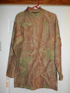 Under Armour ColdGear Compression RealTree Hardwoods Camouflage Shirt XXL #UnderArmour #Compression #Camouflage #HuntingSeason