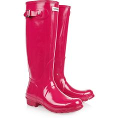 Hunter Original Tall Wellington boots, ahhh love this colour!