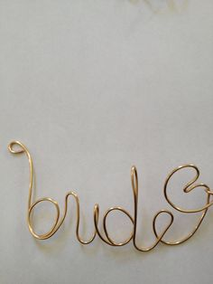 Bride, wirewrapped,