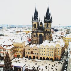 ¿Hay algún sitio mejor para pasar la #navidad que #Praga? #invierno #Prague