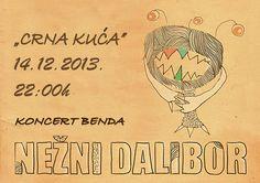 Koncert benda Nežni Dalibor u Novom Sadu