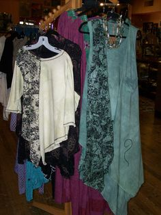 More comfortable, all natural, summer fashions--perfect for our Texas summers!